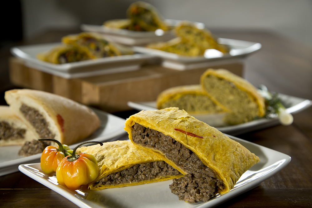 jamaican patties  five star bakery  breads baked fresh daily